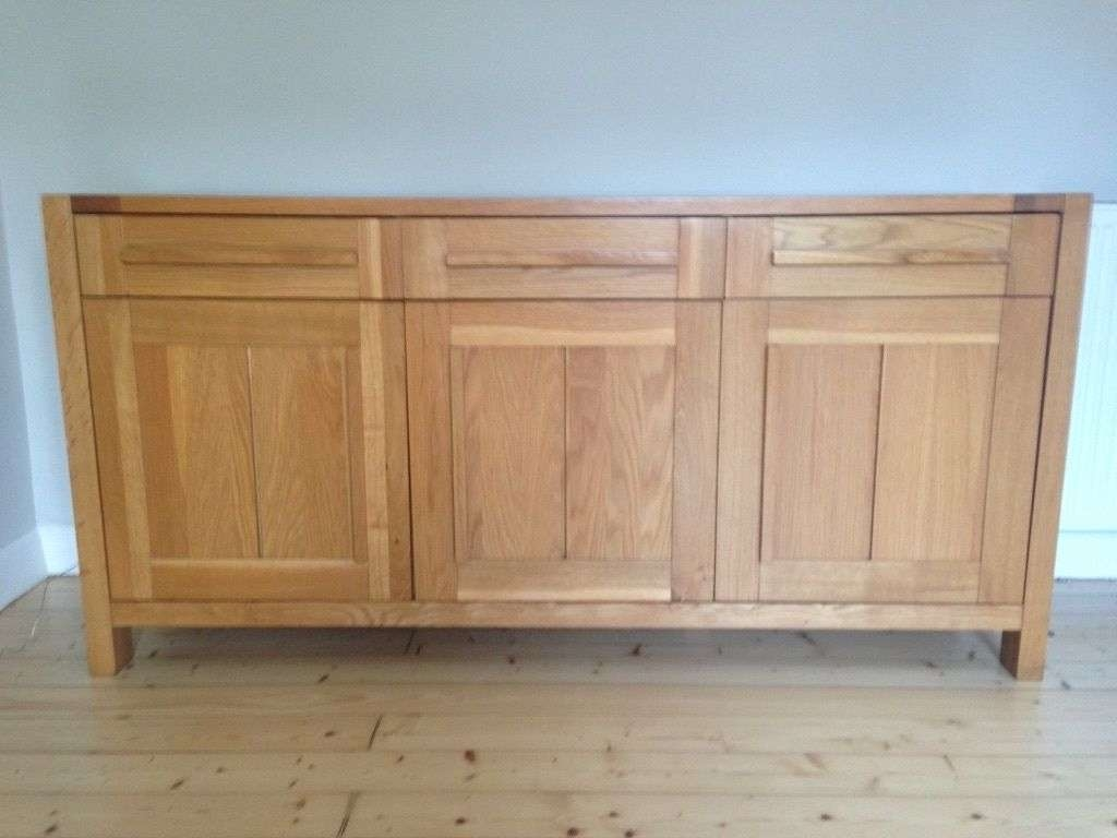 Sideboard M&s Sonoma Light 3 Door Sideboard Like New | In Throughout Marks And Spencer Sideboards (View 3 of 20)