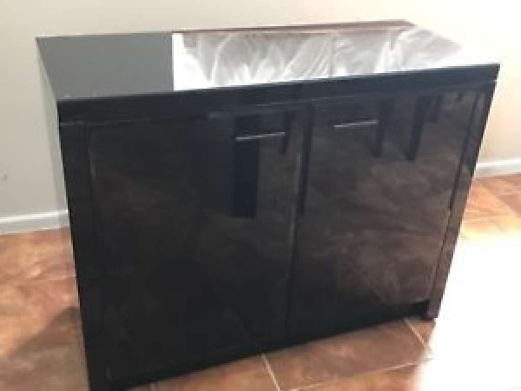 Sideboard Next Black Gloss Sideboard | Ebay With Next Black Gloss Intended For Next Black Gloss Sideboards (View 11 of 20)