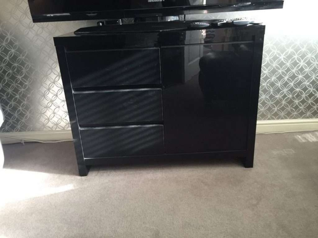 Sideboard Next Opus Black Gloss Side Board/tv Unit | In Stirling With Next Black Gloss Sideboards (View 15 of 20)
