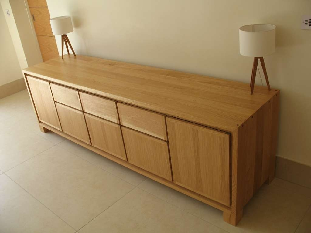 Sideboard Oak And Glass Table & Sideboard Bespoke Handmade Inside Bespoke Sideboards (View 19 of 20)