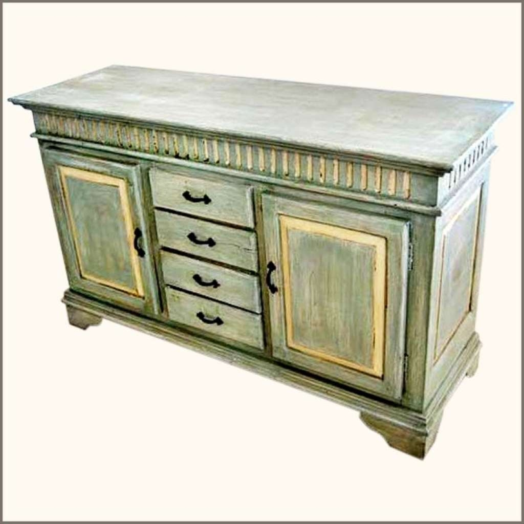 Sideboard Oklahoma Farmhouse Hand Painted Sideboard Buffet With Regarding Hand Painted Sideboards (View 16 of 20)