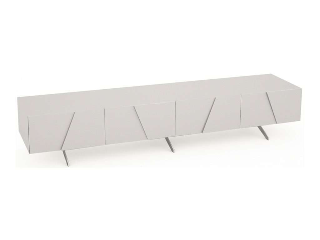 Sideboard Polar Long Low Media Sideboard | Oak Furniture Solutions In Media Sideboards (View 1 of 20)