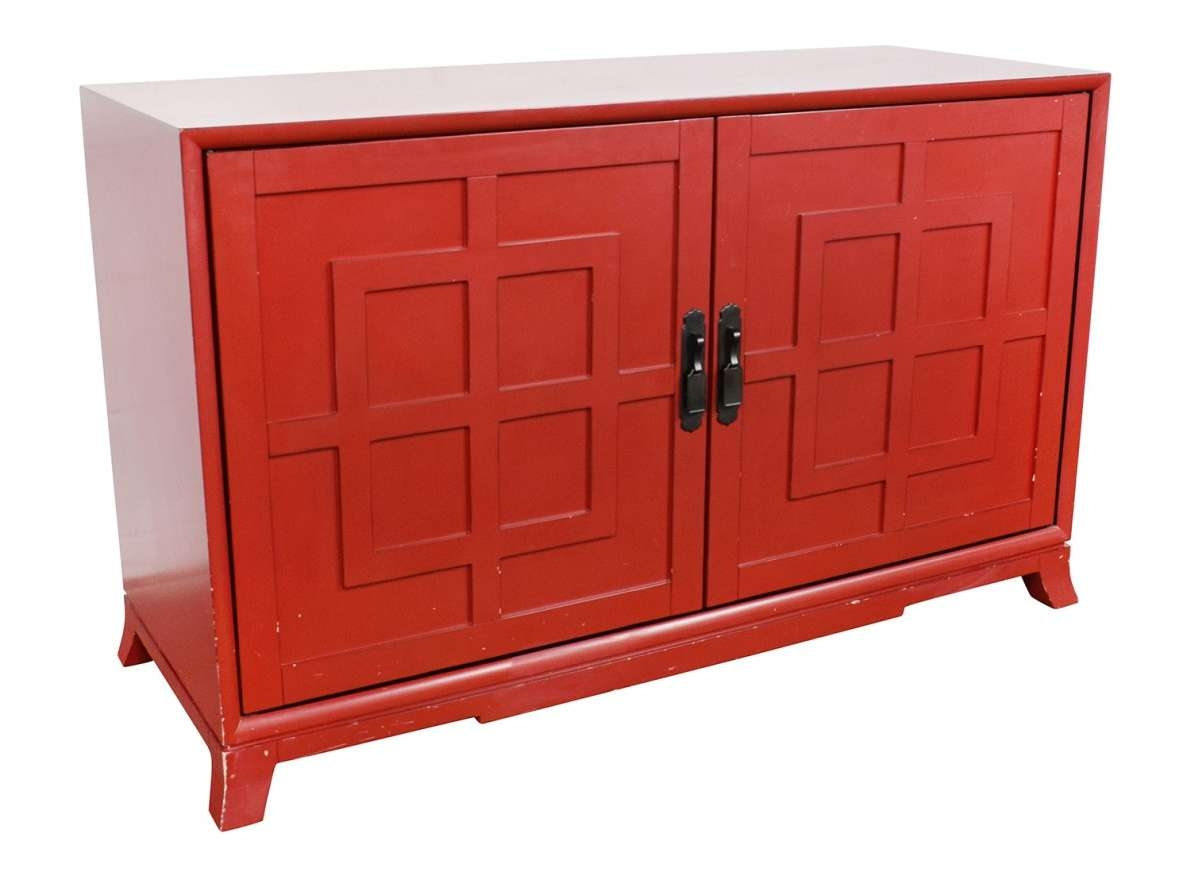 Sideboard : Red Sideboards Acceptable Red Wagon With Sideboards With Regard To Red Sideboards (View 16 of 20)