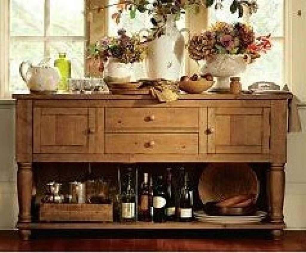 Sideboard Sense And Simplicity: 5 Ways To Style Your Sideboard For Pottery Barn Sideboards (View 6 of 20)