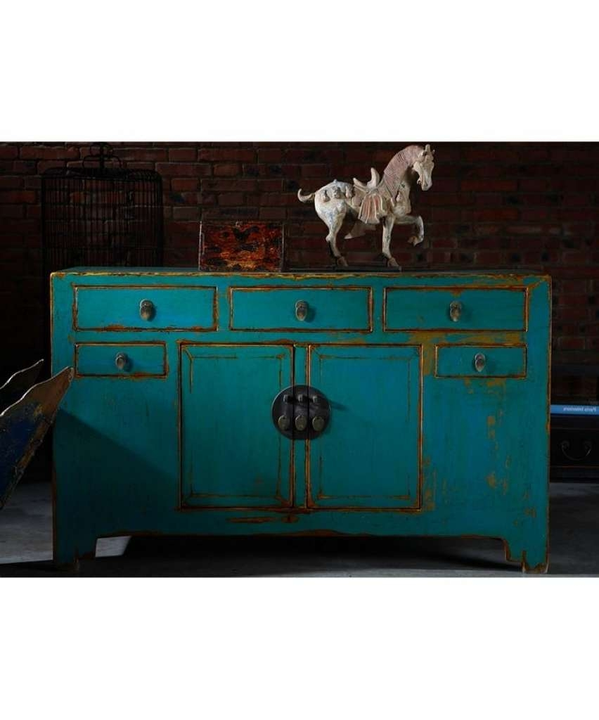 Sideboard Shanxi Sideboard Turquoise Blue Chinese Furniture Throughout Turquoise Sideboards (View 9 of 20)