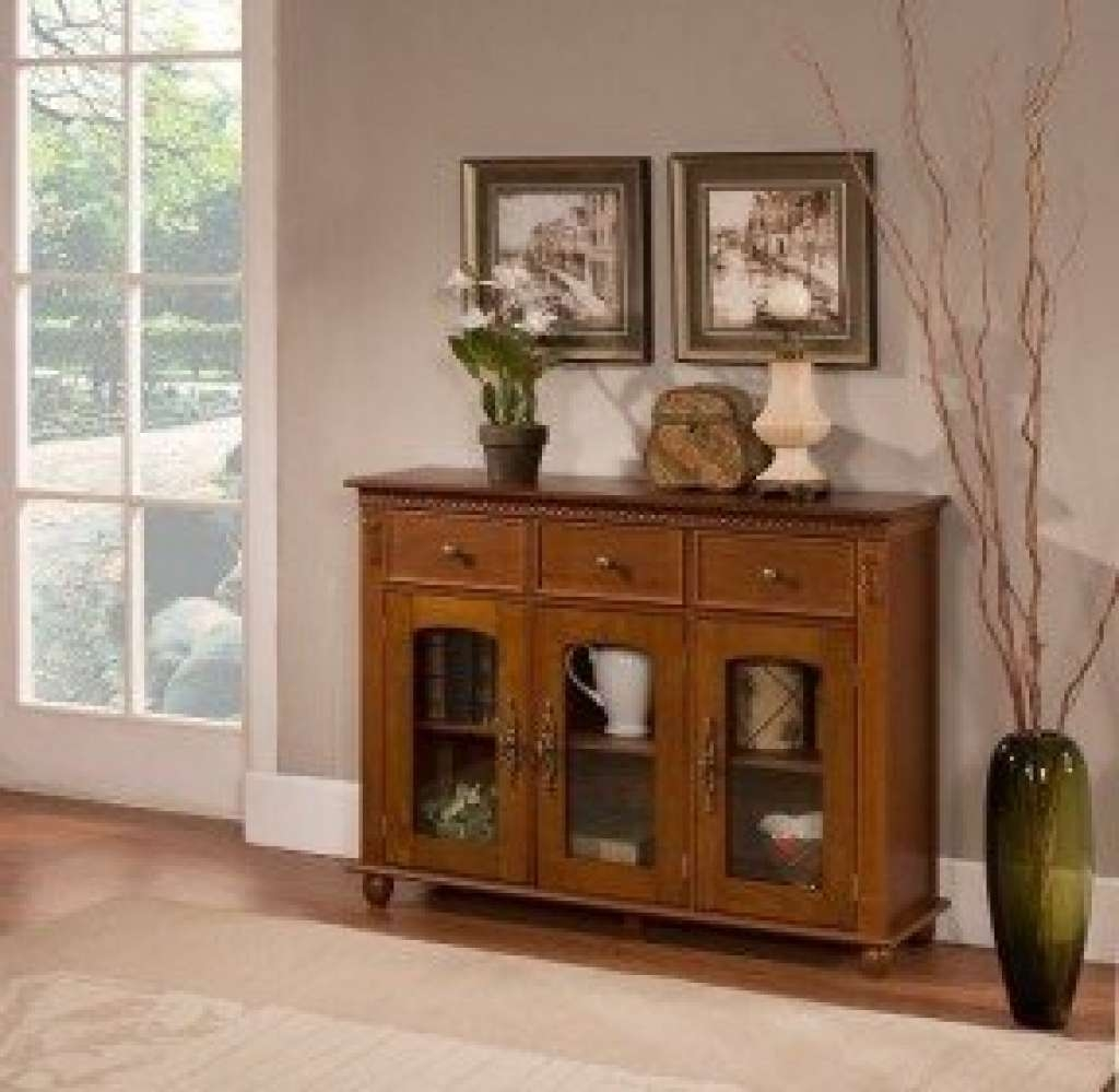 Sideboard Sideboards And Buffets With Glass Doors Foter Inside Inside Glass Buffet Table Sideboards (Gallery 8 of 20)
