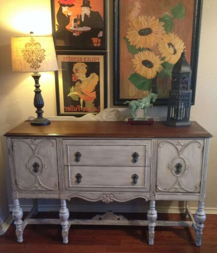 Sideboard Sideboards: Awesome Distressed Sideboards And Buffets In Distressed Sideboards (View 12 of 20)