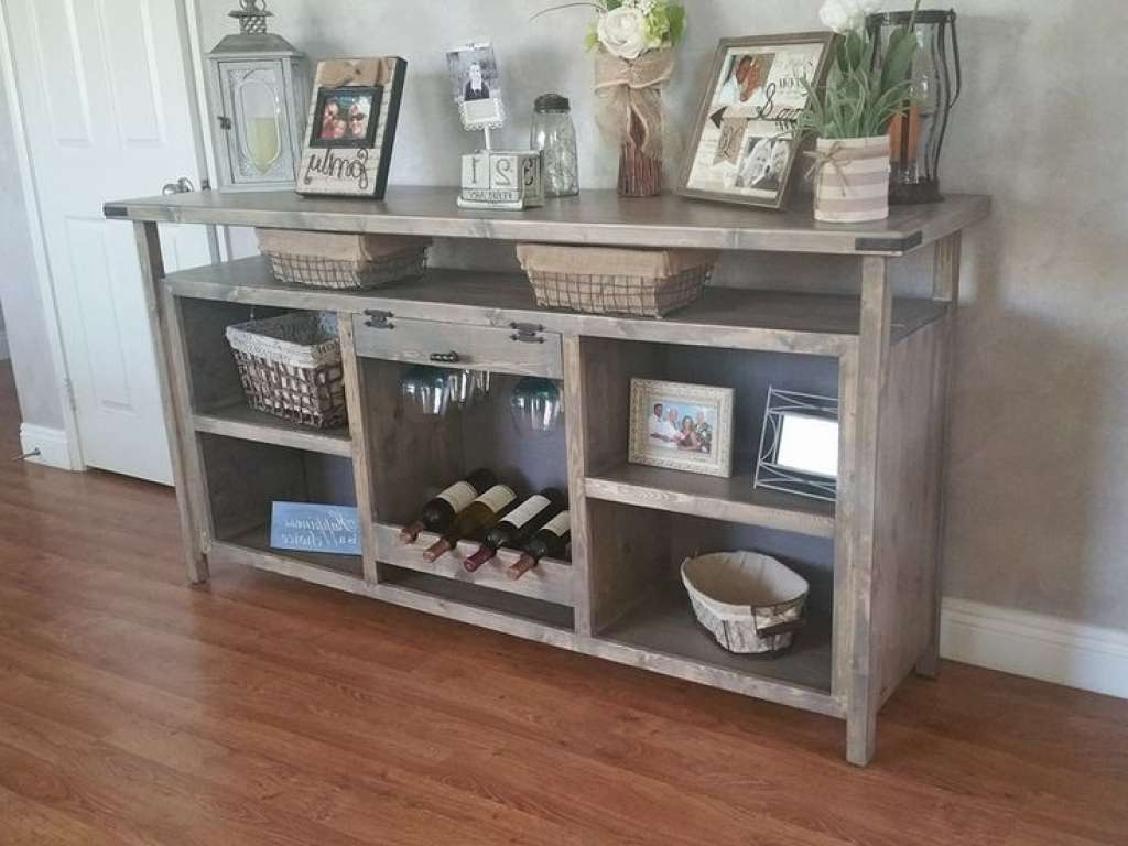 Sideboard Sideboards Glamorous Dining Room Buffet With Wine Rack For Glass Table
