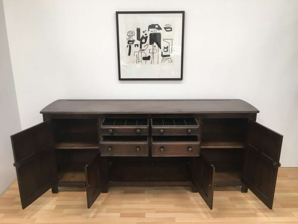 Sideboard Sideboards: Outstanding 7 Foot Sideboard Ashley For 6 Foot Sideboards (View 16 of 20)