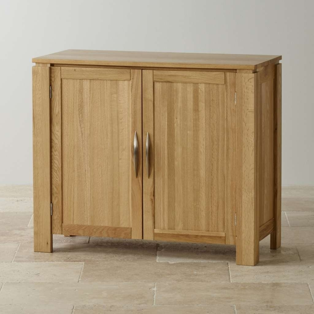 Sideboard Sideboards | Up To 50% Off | Oak Furniture Land With Regard To Slim Oak Sideboards (View 9 of 20)