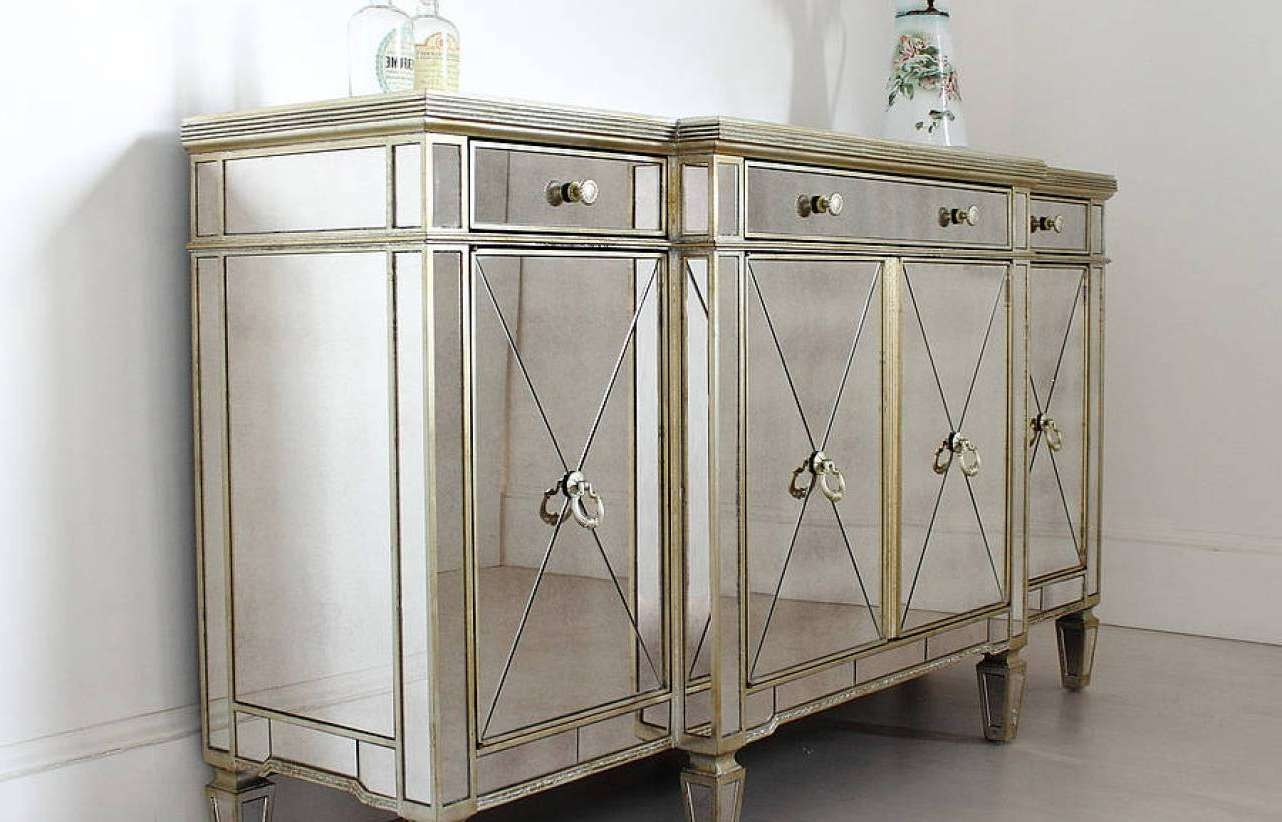 Sideboard : Small Antique Buffet Cabinet Amazing Antique Sideboard Pertaining To Small Narrow Sideboards (View 12 of 20)
