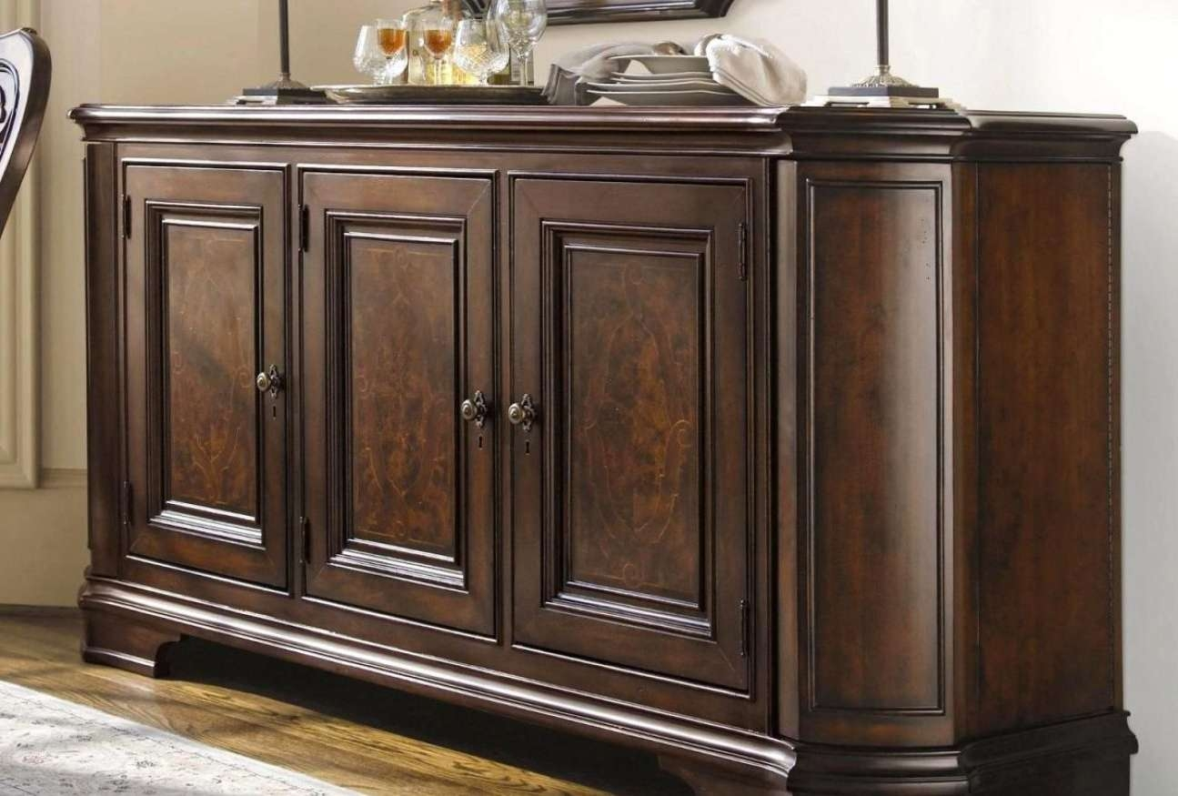 Sideboard : Small Antique Buffet Cabinet Amazing Antique Sideboard With Regard To Small Narrow Sideboards (View 14 of 20)