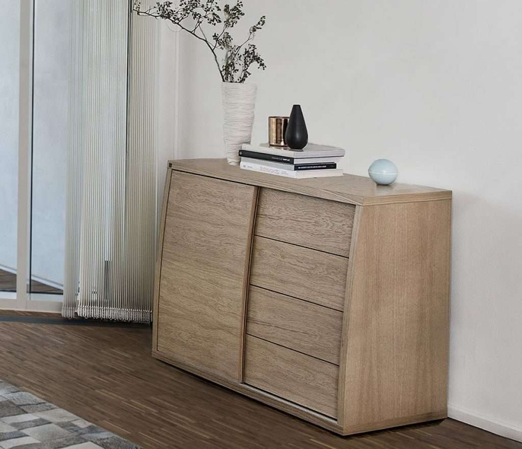 Sideboard Small Contemporary Sideboard A1752 Wharfside Danish In Small Sideboards Cabinets (View 12 of 20)