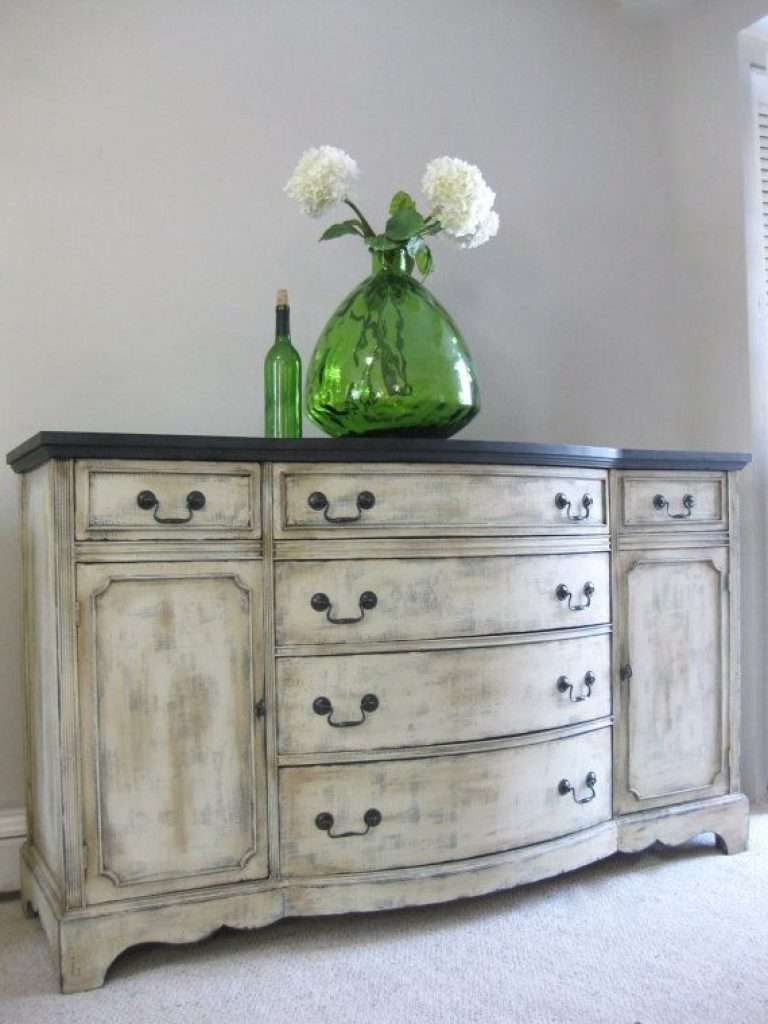 Sideboard Sold Hand Painted French Country Cottage Chic Shabby Throughout Hand Painted Sideboards (View 19 of 20)