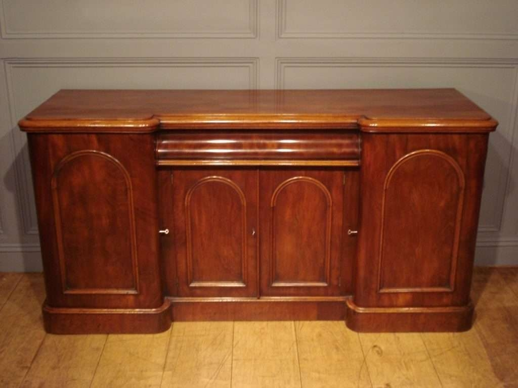 Sideboard Sold/mid 19Th Century Mahogany Sideboard Antique Intended For Antique Sideboards (View 20 of 20)