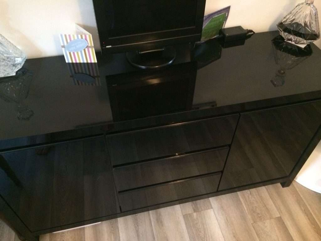 Sideboard Used Next Black Gloss Sideboard In Tn14 Halstead For Within Next Black Gloss Sideboards (View 5 of 20)