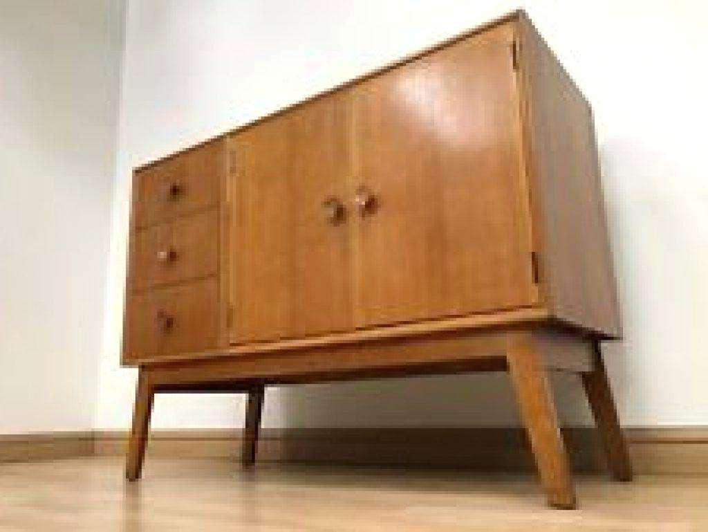 Sideboard Vintage Zoom Style Retro Weiss Danish Uk Throughout Retro Sideboards (View 9 of 20)
