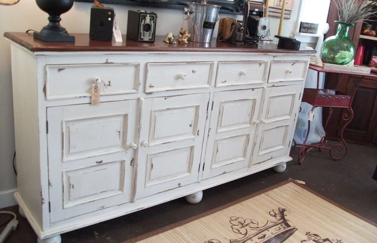 Sideboard : White Sideboard Buffet Cabinet Server Furniture Living In White Buffet Sideboards (View 12 of 20)