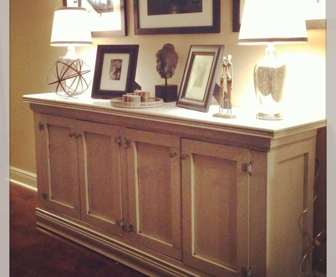 Sideboard : White Sideboard Buffet Cabinet Server Furniture Living Intended For Living Room Sideboards (View 15 of 20)