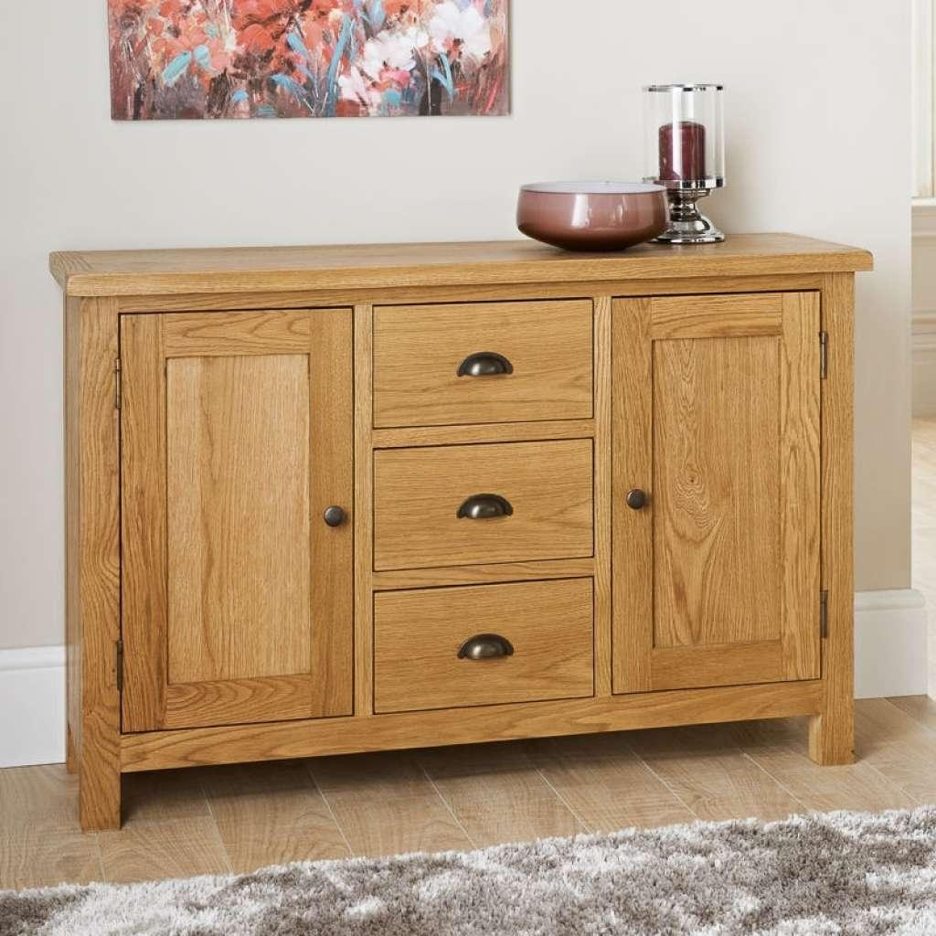 Sideboard Wiltshire Wide Sideboard | Furniture, Oak Furniture In Cream And Brown Sideboards (View 4 of 20)