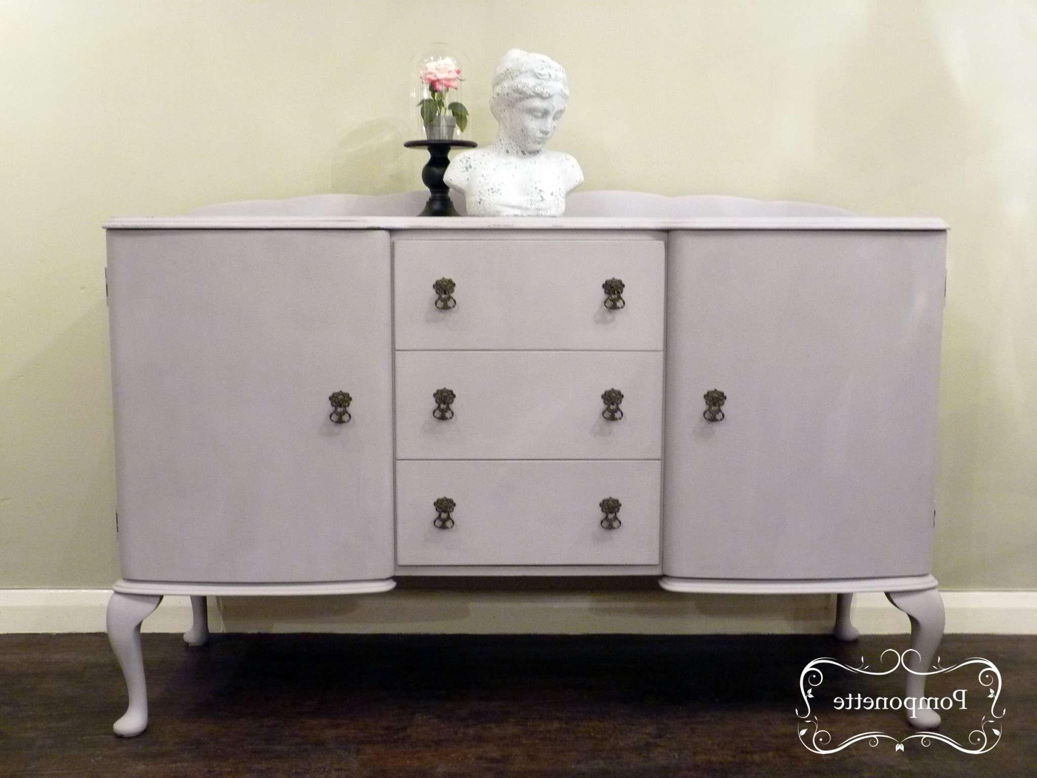 Sideboardpomponette|vintage Painted Furniture In Annie Sloan Painted Sideboards (View 8 of 20)