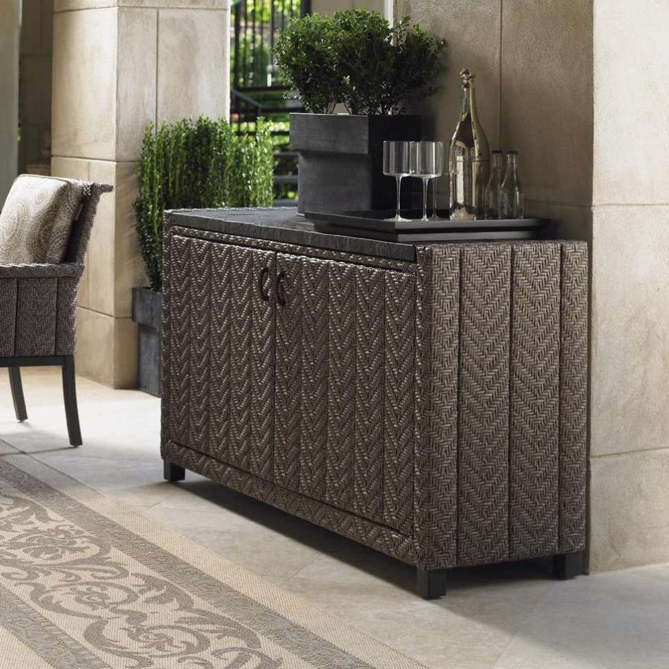 Sideboards : 16 Impressive Outdoor Sideboard Table Picture Ideas Within Outdoor Sideboards Tables (View 4 of 20)