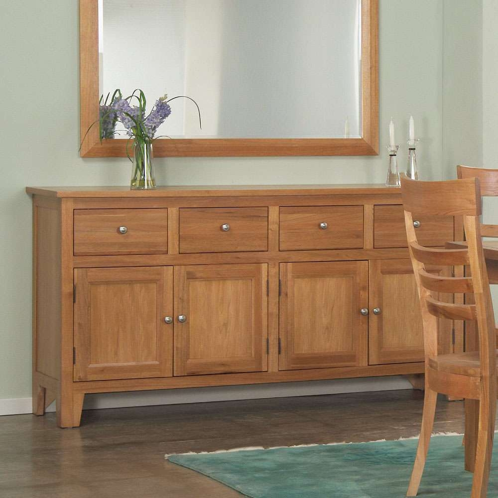 Sideboards: Appealing Maple Buffet Table Buffet Hutch, Antique Within Maple Sideboards (View 20 of 20)
