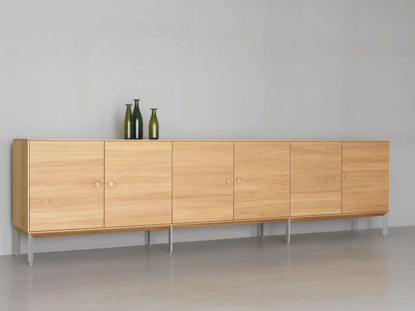 Sideboards: Astounding Extra Long Sideboard Very Long Sideboard Regarding Extra Long Sideboards And Buffets (View 4 of 20)