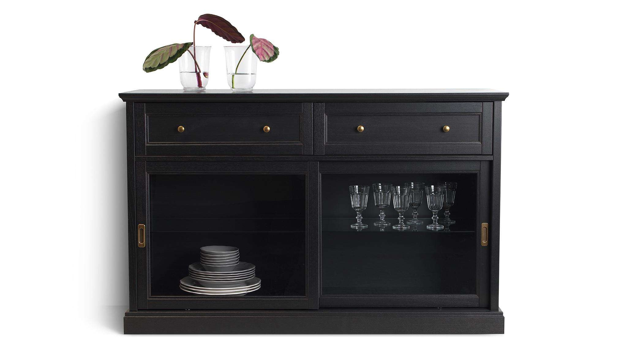 20 Inspirations of Glass Door Buffet Sideboards