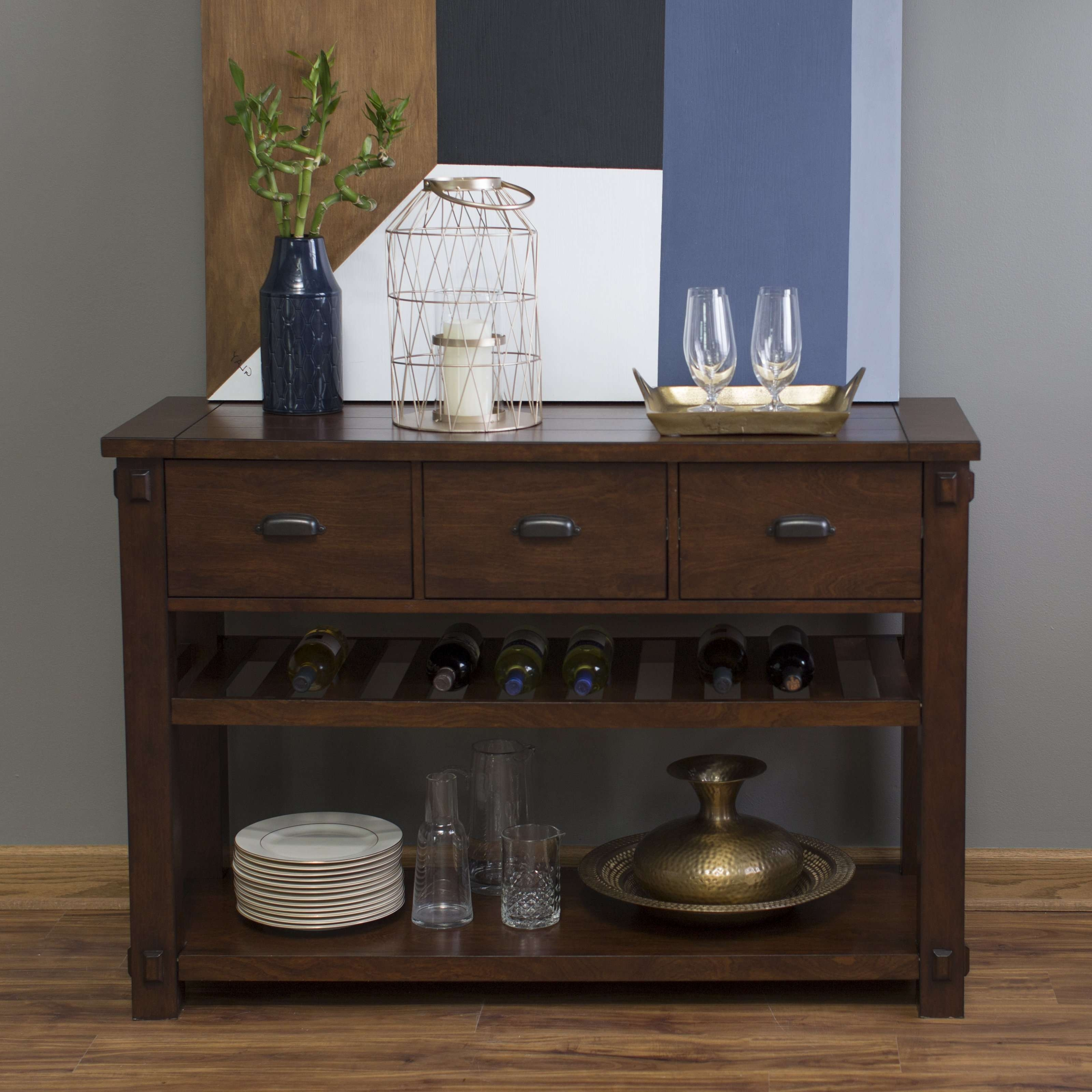 Sideboards & Buffets | Hayneedle Pertaining To Bar Sideboards (View 19 of 20)