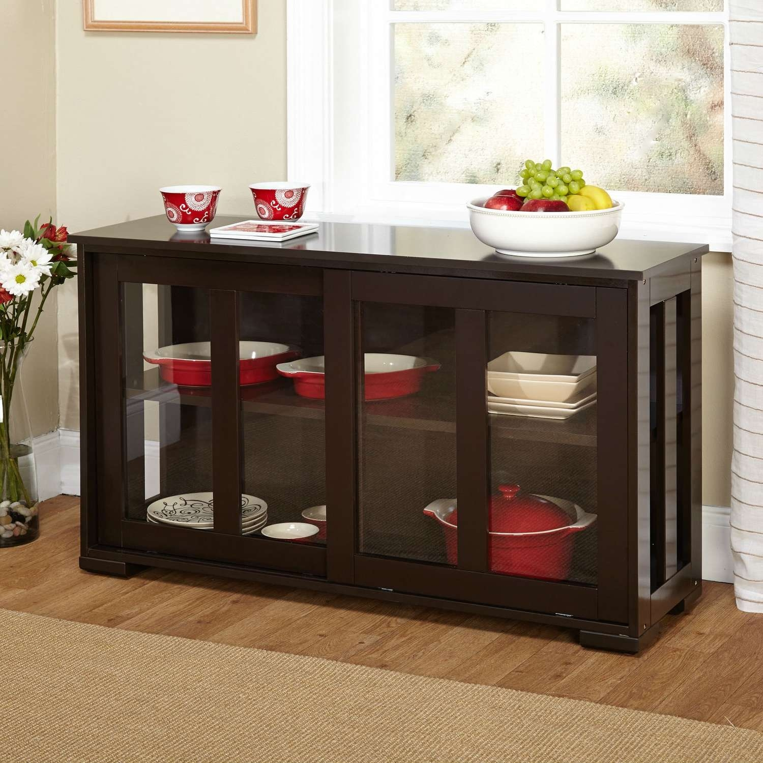 Sideboards & Buffets In Glass Buffet Table Sideboards (View 17 of 20)