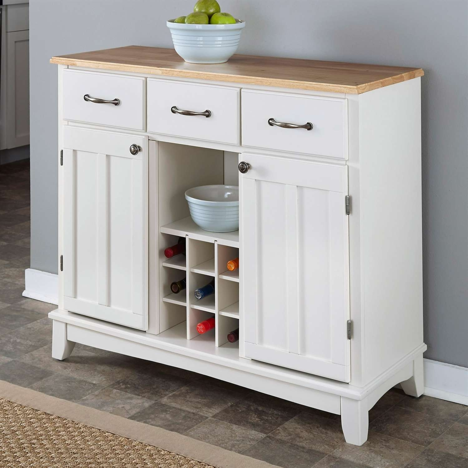 Sideboards & Buffets Throughout White Sideboards Cabinets (View 16 of 20)
