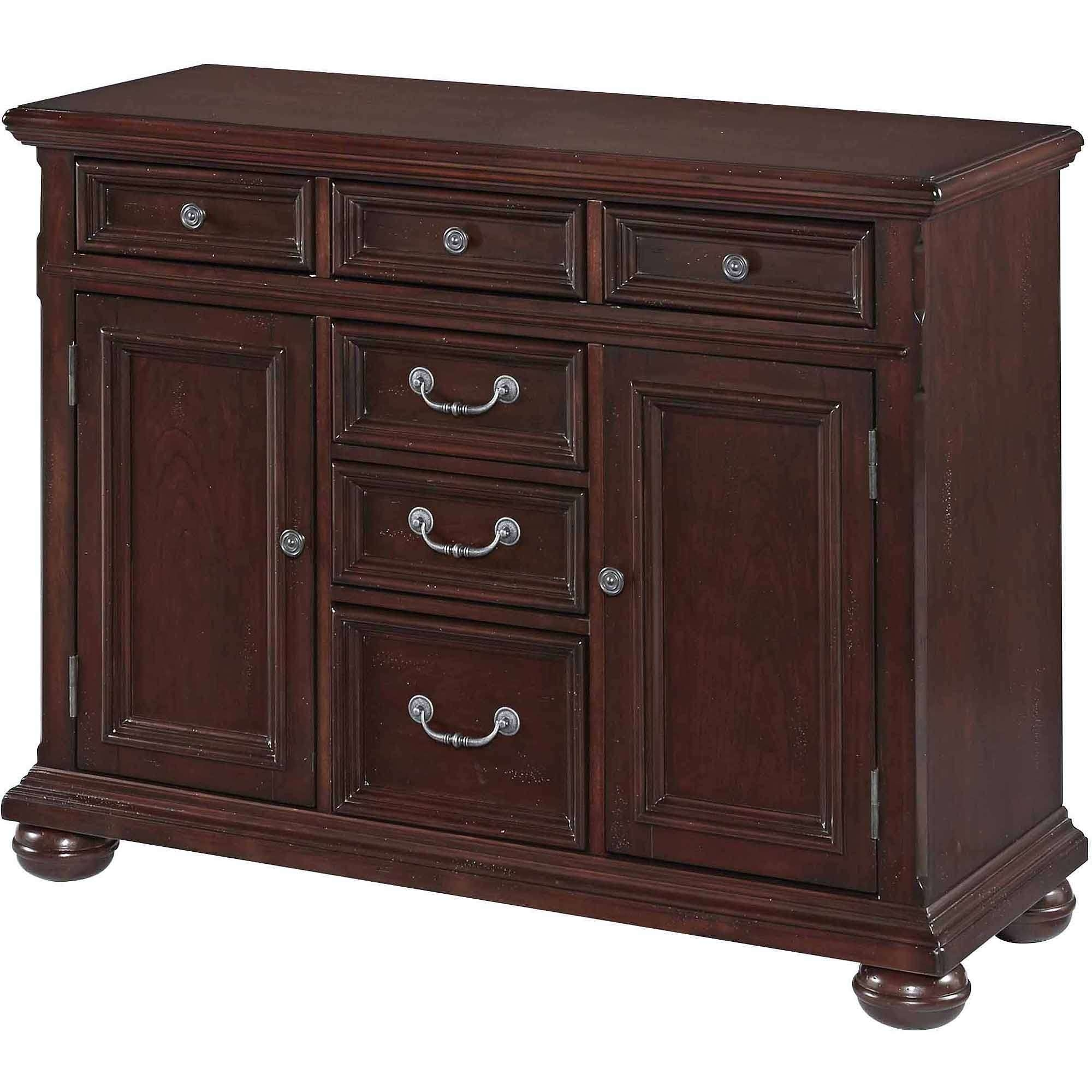 Sideboards & Buffets – Walmart Pertaining To Dark Brown Sideboards (View 13 of 20)