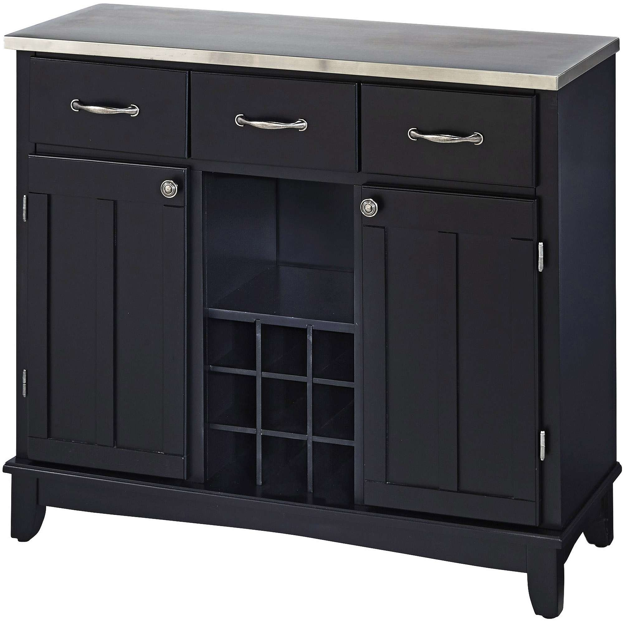 Sideboards & Buffets – Walmart Within Black And Silver Sideboards (View 3 of 20)