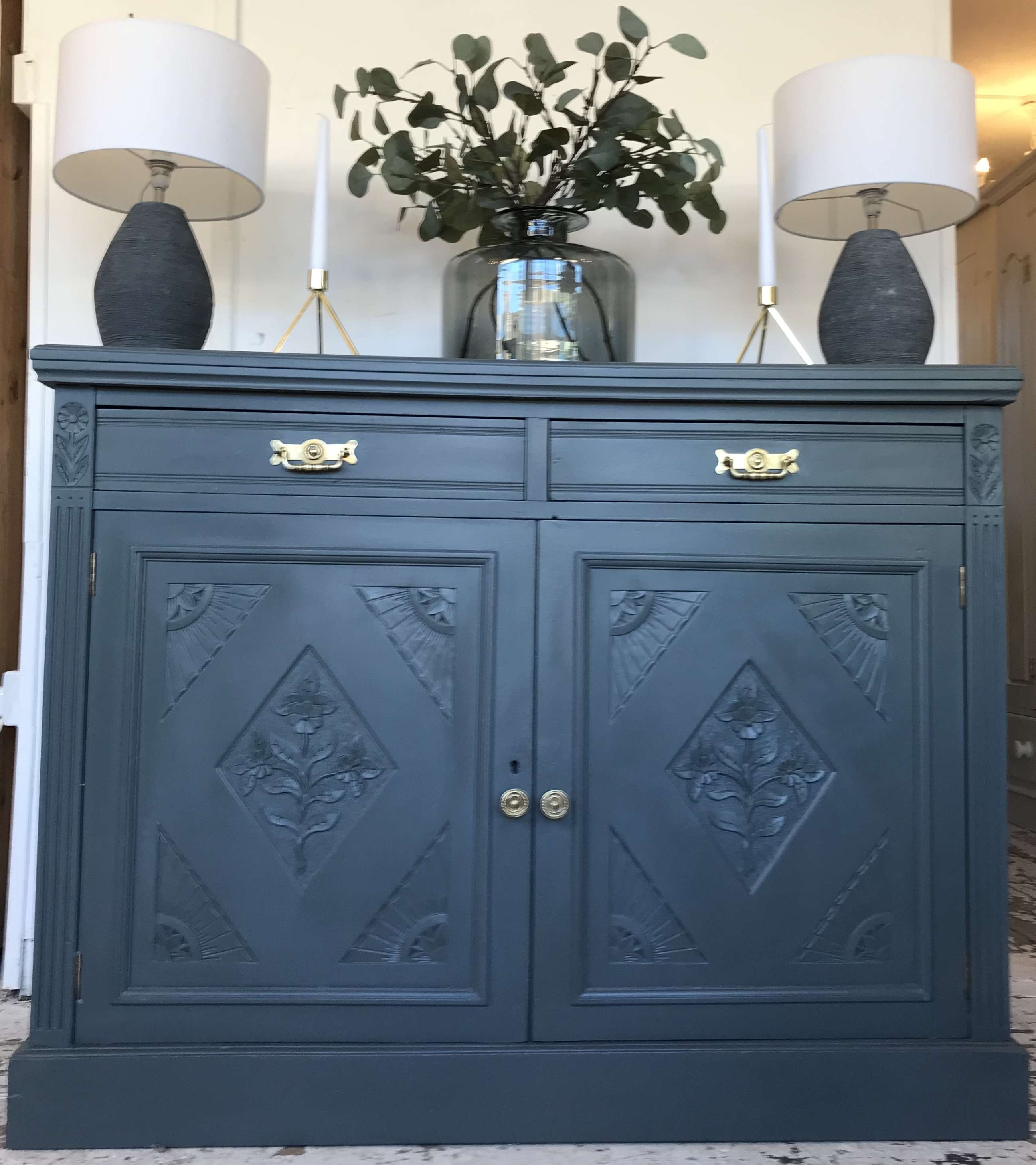 Sideboards Cupboards Consoles Archives – Home Sweet Homehome Sweet Regarding Blue Sideboards (View 14 of 20)
