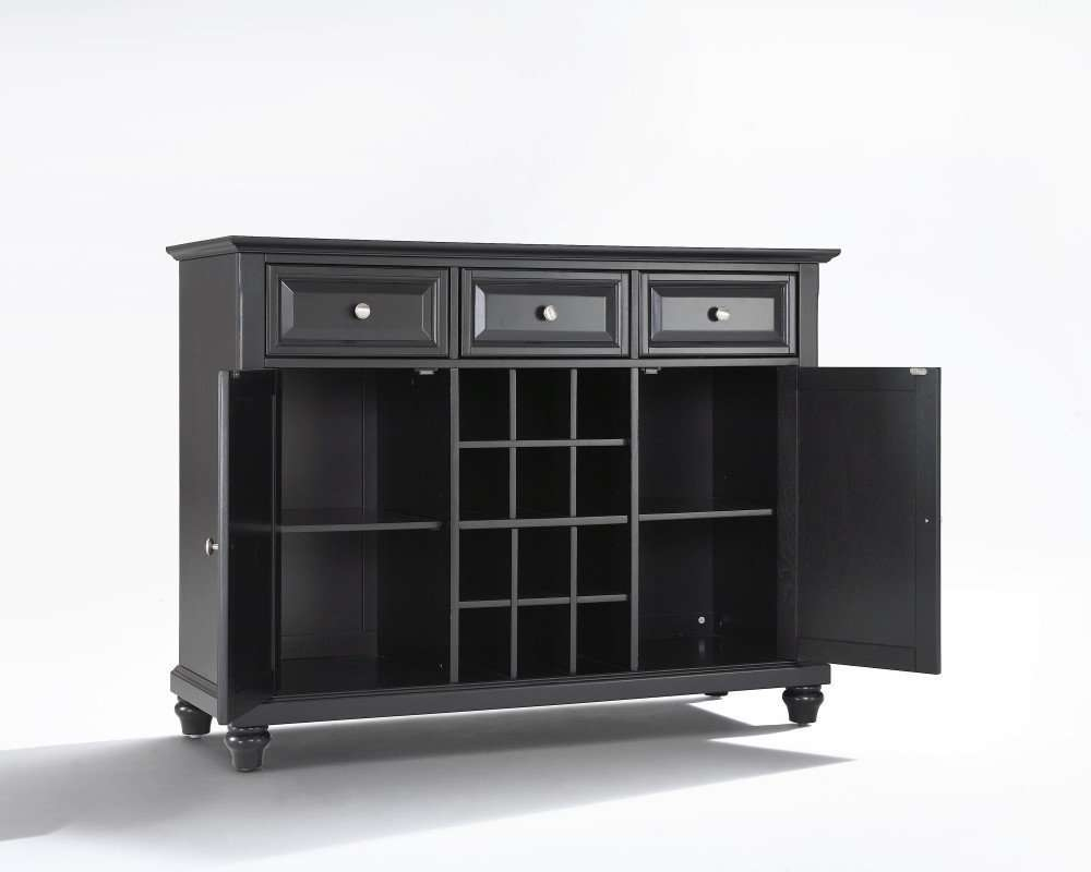 Sideboards: Extraordinary Black Wine Cabinet Buffet Wine Bar Intended For Wine Sideboards (View 19 of 20)