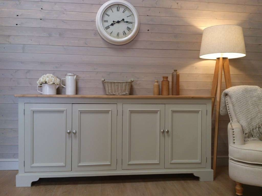 Sideboards: Extraordinary Distressed Wood Sideboard Whitewash In Painted Sideboards And Buffets (View 14 of 20)
