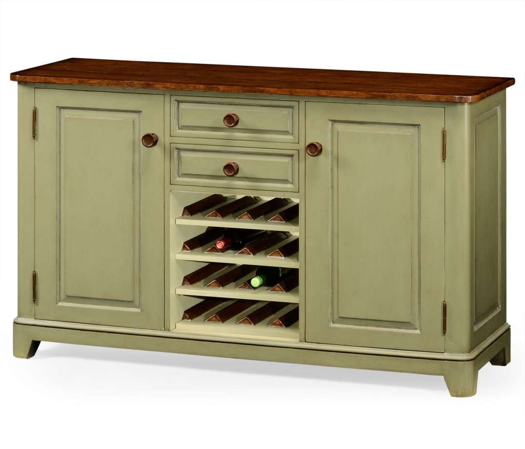 Sideboards: Glamorous Sideboard With Wine Storage Buffet With Wine Intended For Storage Sideboards (View 16 of 20)