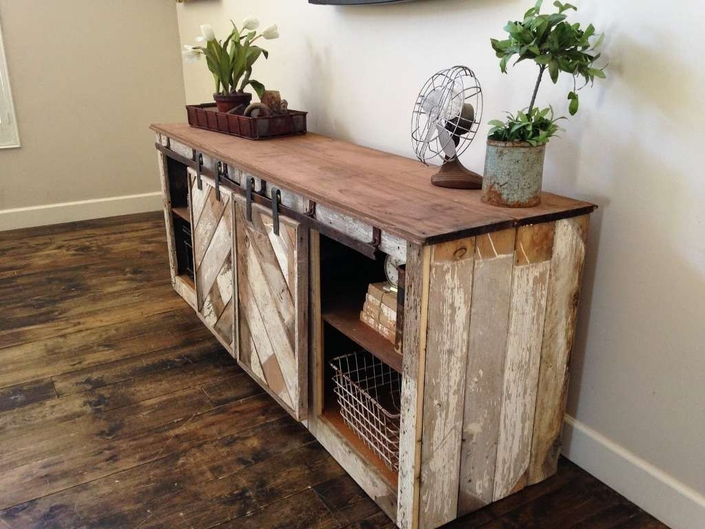 Sideboards: Inspiring Rustic Buffet Tables Rustic Sideboards And For Farmhouse Sideboards (View 3 of 20)