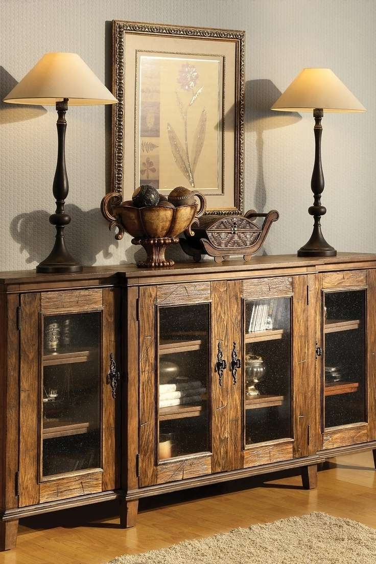 Sideboards: Inspiring Rustic Buffet Tables Rustic Sideboards And In Rustic Sideboards (View 19 of 20)