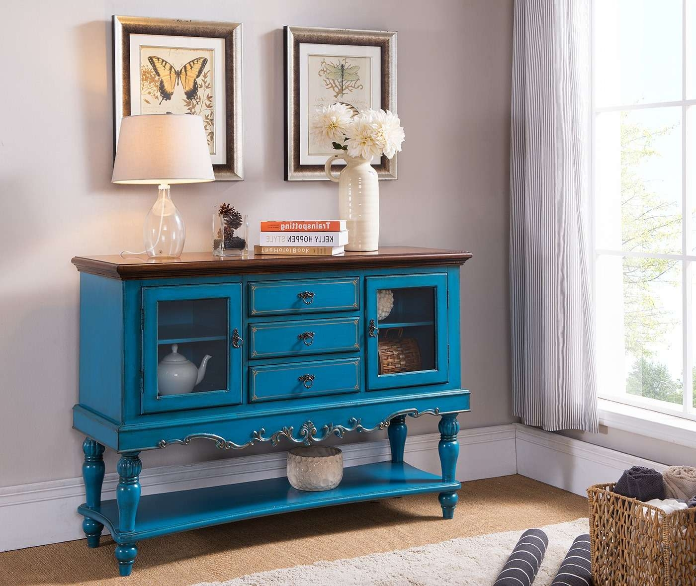Featured Photo of Blue Sideboards