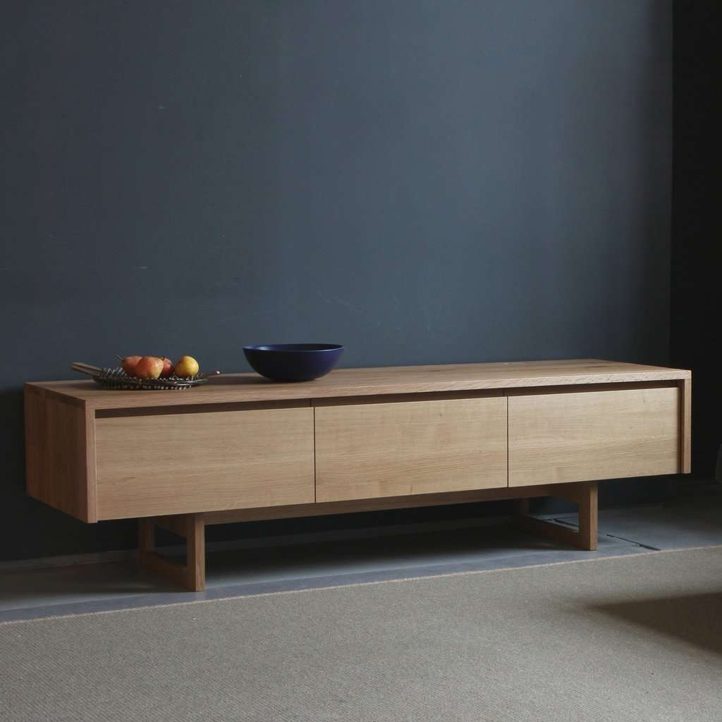 Sideboards: Interesting Low Sideboard Oak Sideboards, Small Throughout Long Low Sideboards (View 12 of 20)