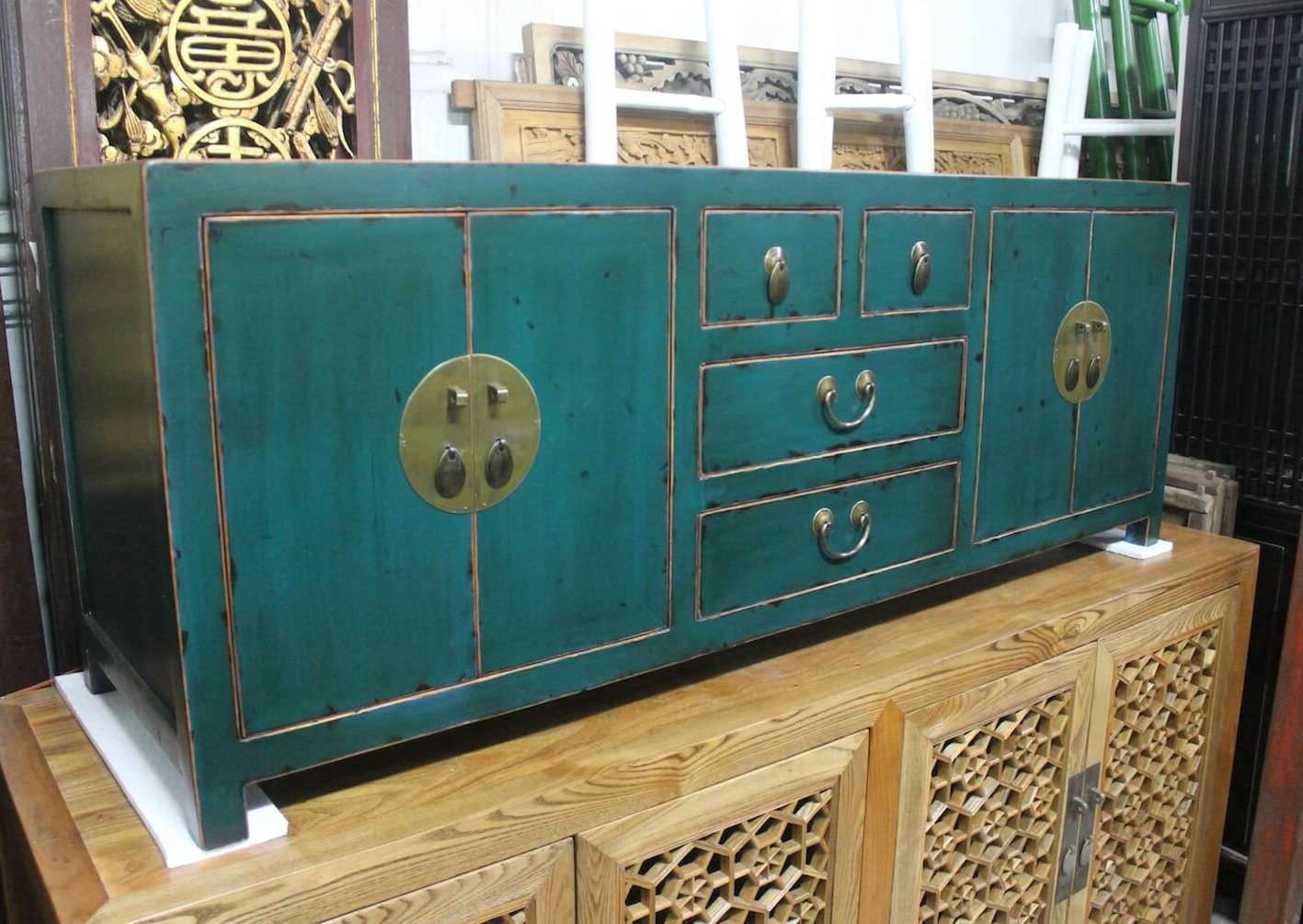 Sideboards | Just Anthony With Green Sideboards (View 18 of 20)