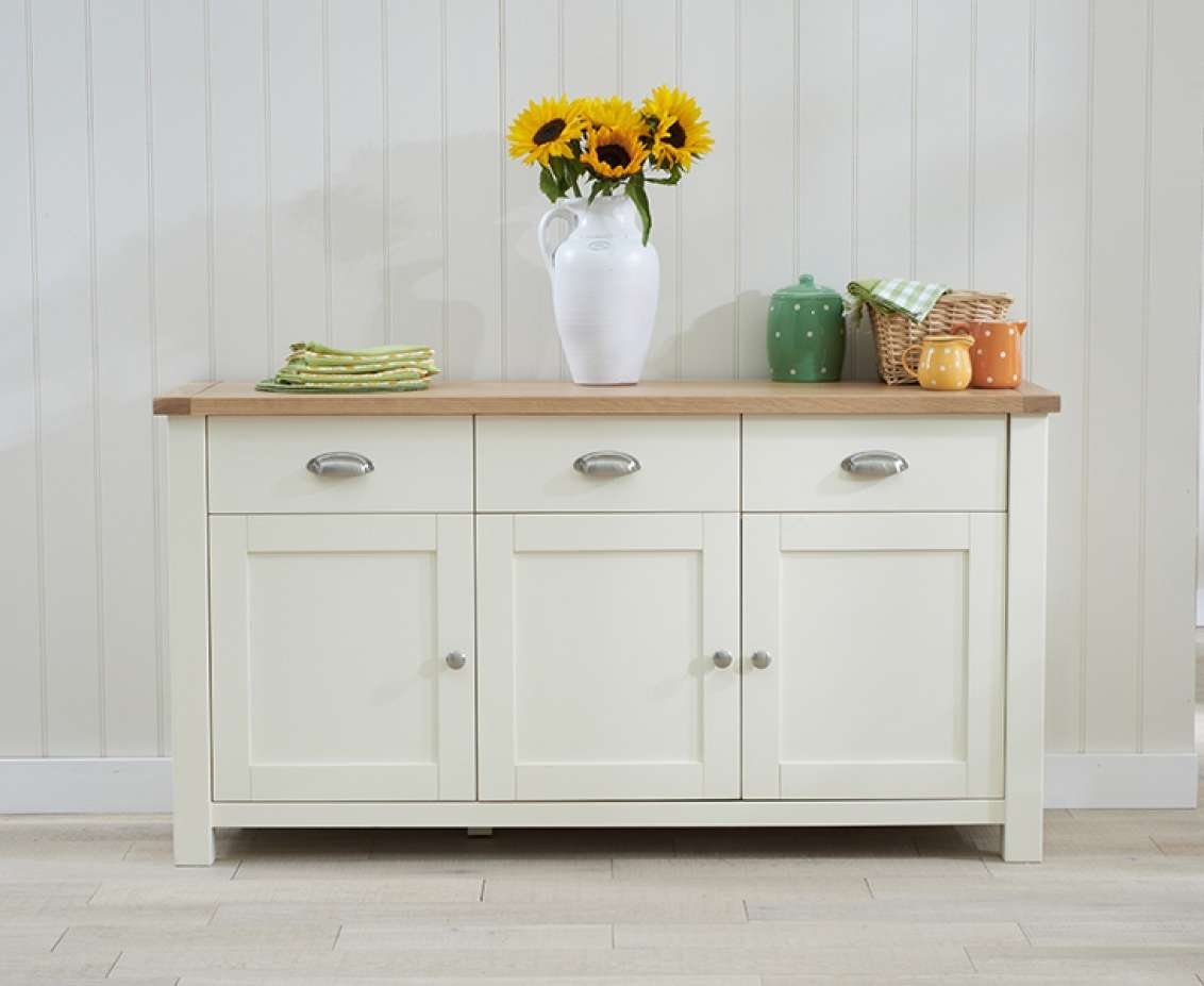 Sideboards | Living Room | Great Furniture Trading Company | The Intended For Cream And Brown Sideboards (View 8 of 20)