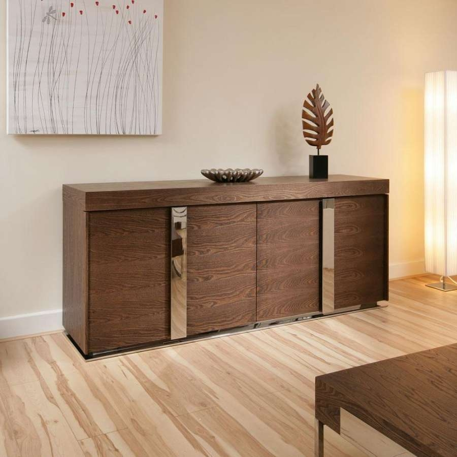 Sideboards: Marvellous Dark Sideboard Furniture Antique Buffet Within Dark Brown Sideboards (View 7 of 20)