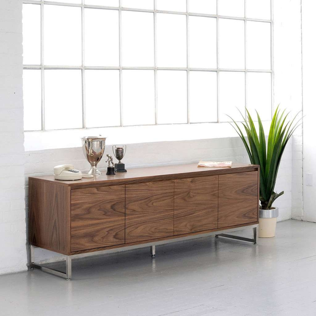 Sideboards: Stunning Credenza Modern Modern Credenza Furniture Inside Extra Long Sideboards And Buffets (View 17 of 20)
