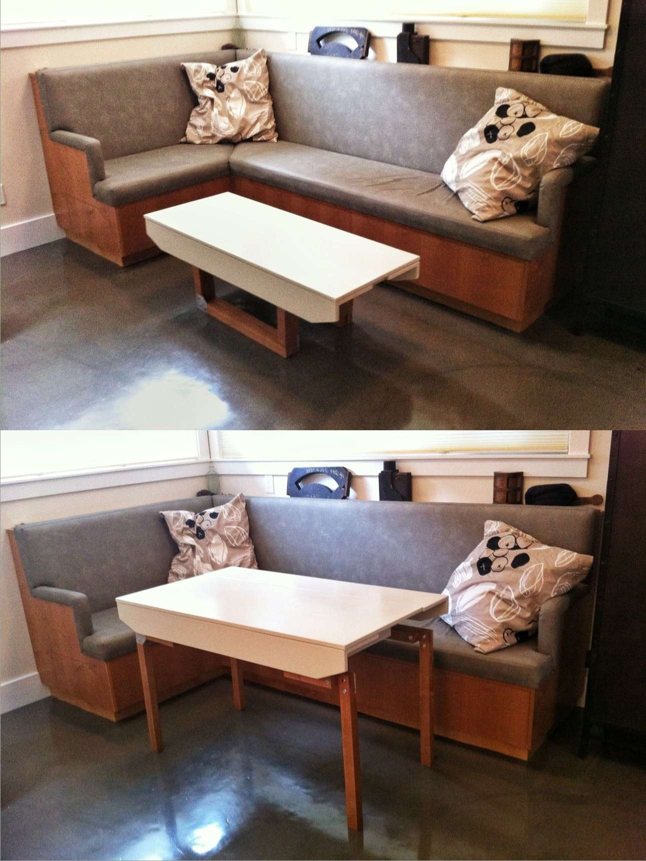 Simple Convertible Coffee Table For Appealing Room Furniture Inside Popular Dining Coffee Tables (View 17 of 20)