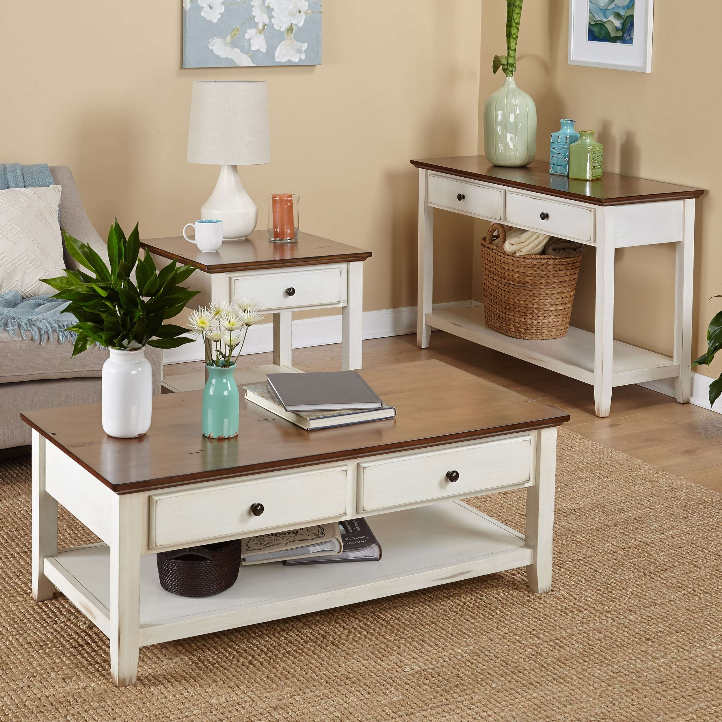 Simple Living Charleston Coffee Table – Free Shipping Today With Regard To Most Current Coffee Tables With Shelves (View 15 of 20)