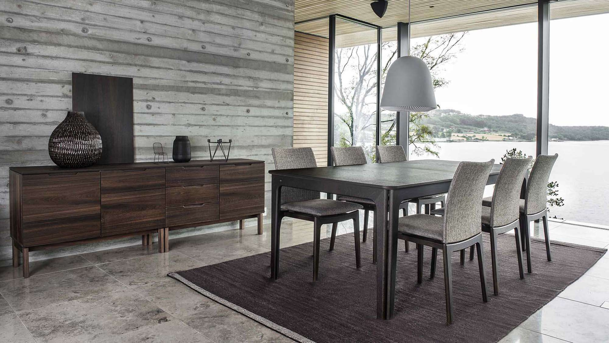 Skovby – All Dining & Living Ranges – Dining/living Tr Hayes For Dining Room Sets With Sideboards (View 9 of 20)