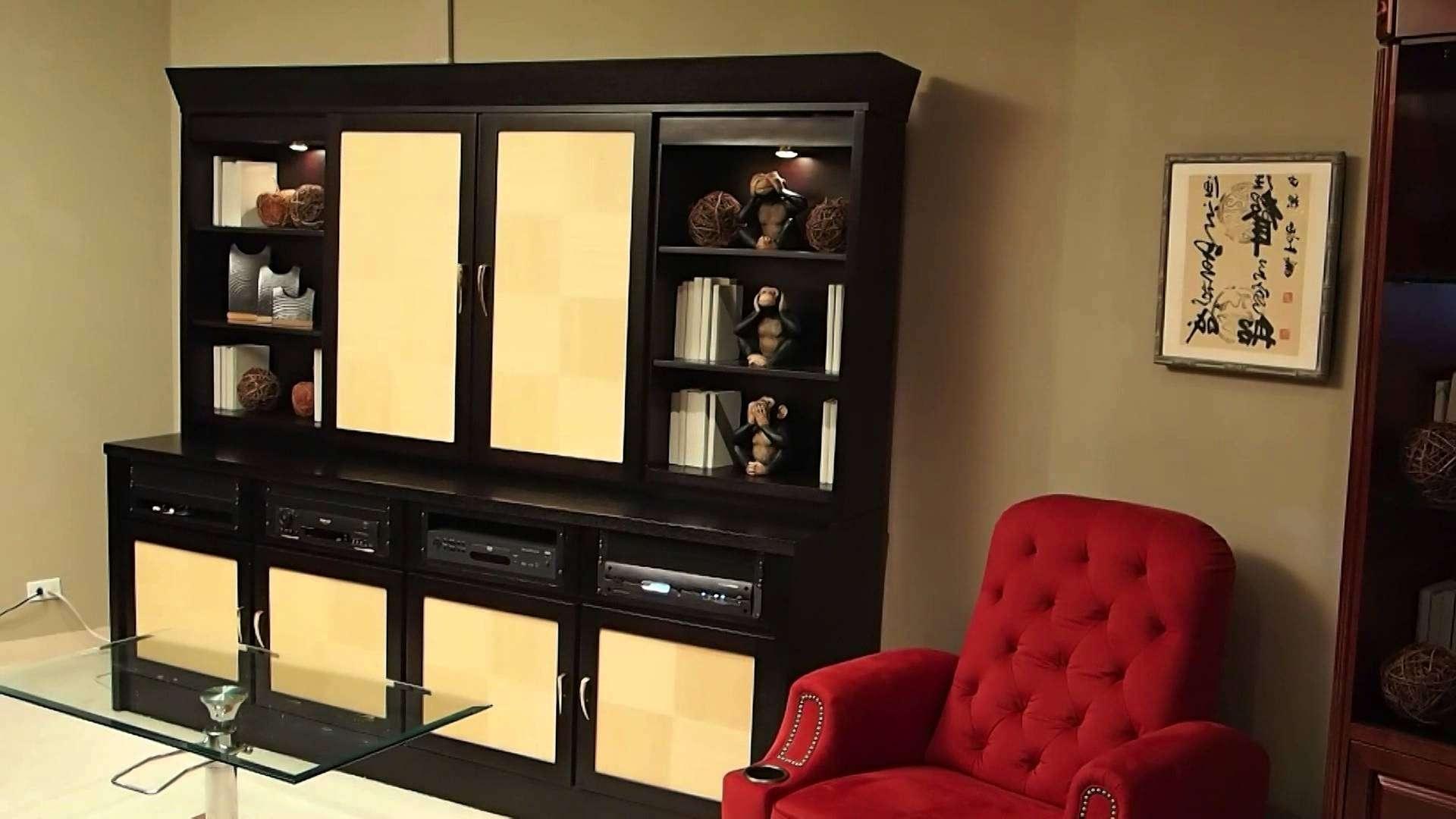 Sliding Door Motorized Tv Cabinet – Youtube In Wall Mounted Tv Cabinets With Sliding Doors (View 13 of 20)